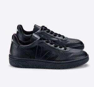 Sneaker Damen Vegan - V-10 CWL - Black Black-Sole - Veja
