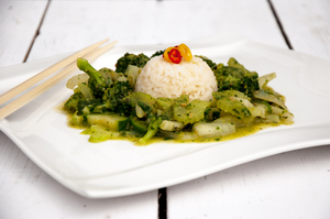 Gewürzbox Grünes Vanille-Curry - RezeptGewürze