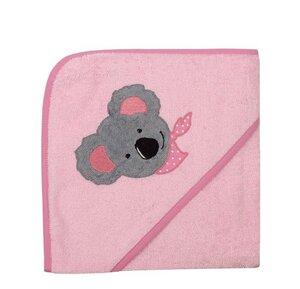 "Baby Kapuzenbadetuch Set mit Waschhandschuh ""Koala"" GOTS zertifiziert - Wörner"