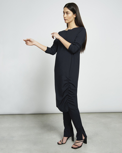 Midi Kleid TRIBECA in schwarz  - JAN N JUNE