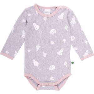Langarm Baby *Mushroom Body* Bio Baumwolle | Freds World - Freds World - Green Cotton
