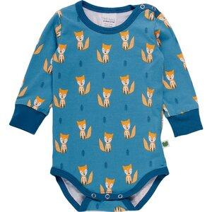 Langarm Baby *Fox Body* GOTS Bio Baumwolle | Freds World - Freds World - Green Cotton