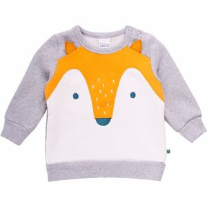 Baby Sweat Pullover *Fox* GOTS | Freds World - Fred's World by Green Cotton