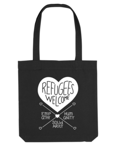 Refugees Welcome – Tasche  - Róka - fair clothing