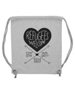 Refugees Welcome – Gymbag - Róka - fair clothing