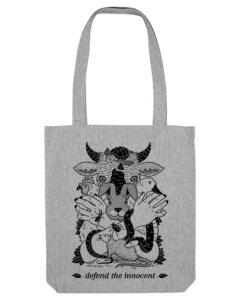 Defend the innocent – Tasche  - Róka - fair clothing