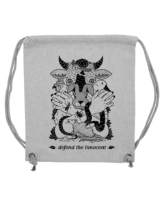 Defend the innocent – Gymbag - Róka - fair clothing