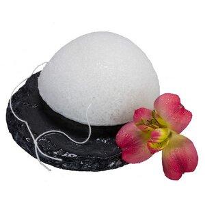 The Konjac Sponge Half Ball Weiß Alle Hauttypen - KONGY