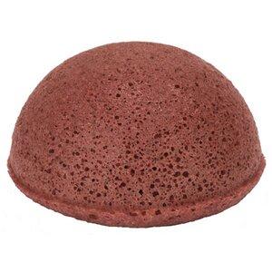 The Konjac Sponge Half Ball Rot Trockene Haut - KONGY