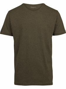 T-Shirt - ALDER Basic O-Neck Tee - KnowledgeCotton Apparel