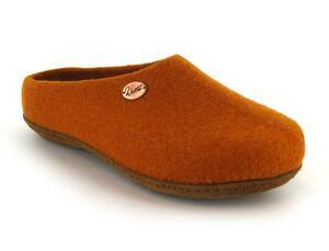 """Filzpantoffeln """"Classic"""" für orthopädische Einlagen geeignet mit extra dickem Filz-Fußbett - WoolFit"""