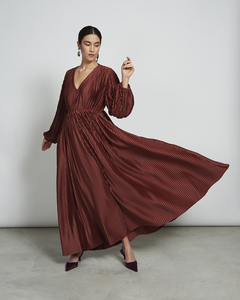 Maxi Kleid ELLIS in framboise - JAN N JUNE