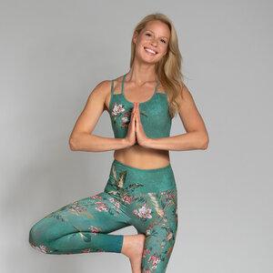 Yoga Sports Bra Damen SECRET GARDEN - Magadi