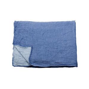 Musselin Decke, Tagesdecke, Sofadecke Bio-Baumwolle in 5 Farbkombinationen zum Wenden - Yolunda