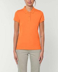 Damen Poloshirt in verschiedenen Farben mit 2 Knöpfen. Polo Pique.  - YTWOO