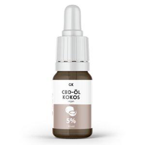 5% CBD Öl Vollspektrum Kokos - 500mg CBD - Grinsekatzen