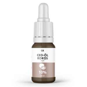 10% CBD Öl Vollspektrum Kokos - 1000mg CBD - Grinsekatzen