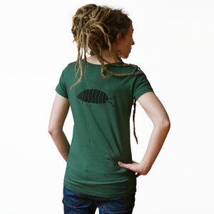 Greta Assel T-Shirt Damen grün - Cmig