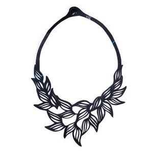 Jasmine vegane Halskette aus recyceltem Kautschuk - Paguro Upcycle