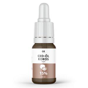 15% CBD Öl Vollspektrum Kokos - 1500mg CBD - Grinsekatzen