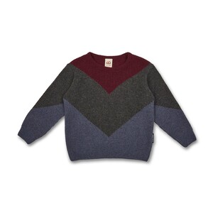 Kinder Knit & Sew Strickpullover (recycelte Wolle) - Manitober