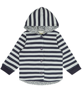 Gemütliche Baby Kapuzenjacke - Sense Organics & friends in cooperation with GARY MASH