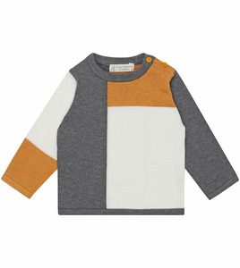Baby Strickpulli mit Colour Blocking - Sense Organics & friends in cooperation with GARY MASH