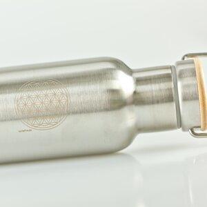 Edelstahl Flasche 500ml  mit Gravur  - Tante Fine