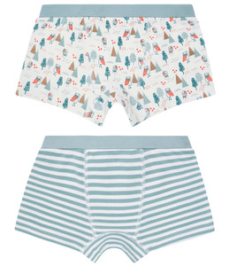 Jungen Boxershorts Doppelpack, Bäume - Sense Organics & friends in cooperation with GARY MASH