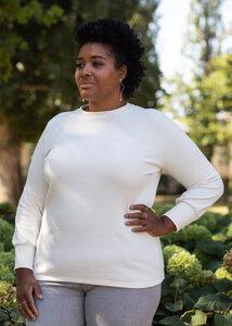 Pullover NICOLE aus Bio Baumwolle Jaquard - Daniela Salazar
