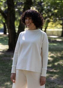 Pullover ANDES aus Bio Baumwolle Jaquard - Daniela Salazar