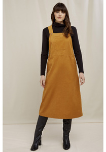 Mindy Pinafore Cordkleid - People Tree