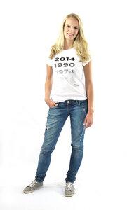 WM Shirt '1954,1974, 1990, 2014' aus Bio-Baumwolle + Fairtrade - von Anagram - anagram