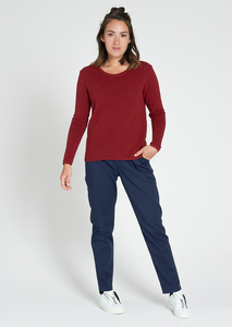 Rib Knit Crew Neck - recolution