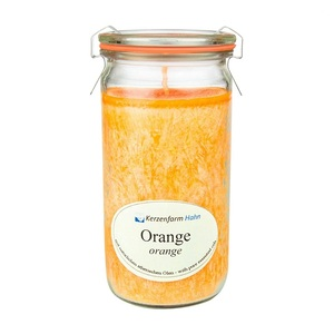 Stearin Duftkerze XL imWECK®-Glas verschiedene Düfte - Kerzenfarm Hahn