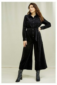 Samt Jumpsuit - Mairi Velvet Boilersuit - People Tree