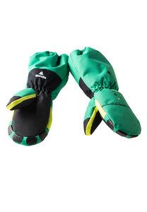 Handschuhe Kinder aus recyceltem Polyester MONDO Monster grün - WeeDo