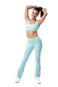 """Fitnesshose """"Lanasia"""" mit weitem Bein und Shape Effekt durch taillierten Bund - LANASIA"""
