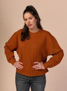 Damen Sweatshirt JAYA aus Bio-Baumwolle - Fairtrade & GOTS zertifiziert - MELAWEAR