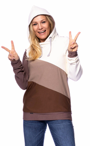 "Milchshake Woman ""LILAN"" leichter Hoodie (latte macchiato)  - Milchshake"