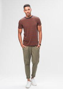Tencel Casual T-Shirt #STRIPES - recolution