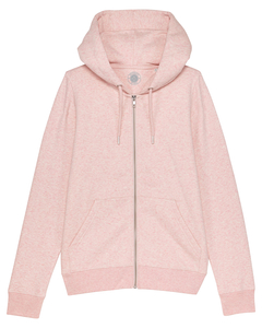 "Damen Zip-Hoodie aus Bio-Baumwolle ""Pia"" - University of Soul"
