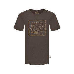Inspirationalastic T-Shirt Braun - bleed