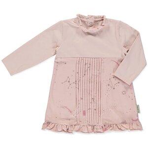 Bio-Baumwolle Kleid Antlia mit Sternbilddruck - Peter Jo Kids