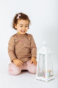 Bio-Baumwolle Babyjacke/Blazer Phoenix mit Sternbilddruck - Peter Jo Kids