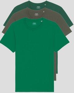 3er Pack Basic Unisex T-Shirt aus Bio Baumwolle | viele Farbkombinationen | Fair Trade | Nachhaltig - YTWOO