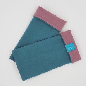 Armstulpen Jersey Hellpetrol/Altrosa - bingabonga®