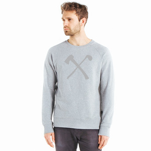 Club&Axe Rundhals Sweater - The Driftwood Tales