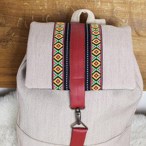 Rucksack Damen wasserdicht, handgemacht M - Mitienda Shop
