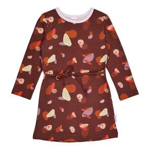 Mädchenkleid langarm boulders Bio-Baumwolle - Baba Babywear